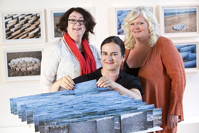 Artist Doreen Kennedy is making waves at Belfast Photo Festival with her photography based installation Sea Bed