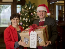 The Arts Council gives major gifts this Christmas