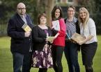 ACES recipients Steve Cavanagh, Stephanie Conn, Rebecca Reid, Caroline Healy and Elaine Gaston will use their awards to develop new and exciting work, and to find new ways in which to engage with their audiences.