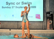Professional synchronised swimming team, Aquabatix