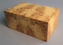 Burr Myrtle Jewellery Box, Burr Myrtle with a Cedar lining and internal tray