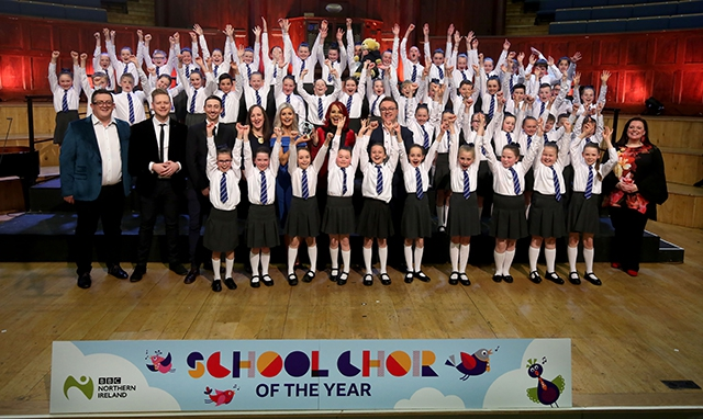 Ebrington Primary School, Junior winners of BBC Northern Ireland School Choir Of The Year