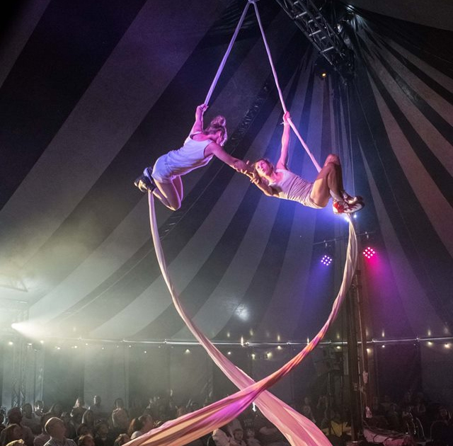 Tumble Winter Circus, Writer's Square, Belfast, runs until Tuesday 1st January 2019