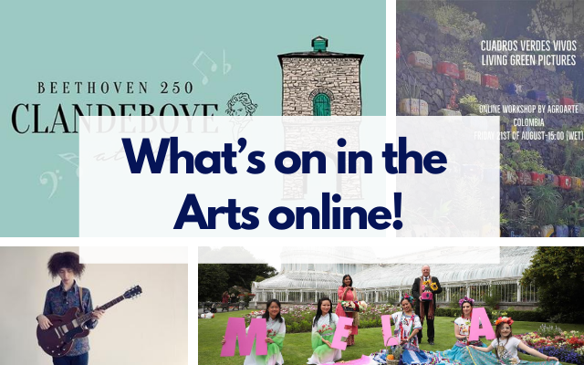 What's on the Arts online!