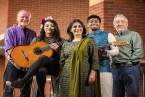 Musicians and singers from all four corners of the world came together this week for a special event at the Lyric Theatre. Produced by ArtsEkta 'Connections' was created under the musical direction of acclaimed composer and musician Neil Martin