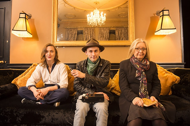 Joining an illustrious line up of previous Major Individual Award recipients are dancer, Oona Doherty, Jazz Musician, David Lyttle and writer, Anne Devlin. Missing from the photograph is composer, Ian Wilson. Each has received an award worth up to £15,000