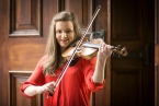 Violinist, Susanna Griffin has been announced as the new Leader of the Ulster Youth Orchestra, and has been presented by the Arts Council of Northern Ireland with the 237 year old, Milton Violin, made by renowned violin maker, Joseph Gagliano