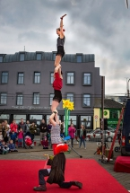 Tumble Circus, recently awarded £5,110 through the Arts Council's Small Grants Programme for Circus at the MAC