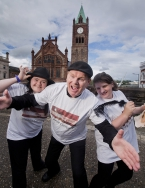 Stage Beyond Theatre company, a theatre group for young adults with learning difficulties based in Derry/Londonderry, are one of 21 organisations to have been awarded funding through the Arts Council of Northern Ireland and Public Health Agency's ARTicula
