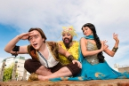 Aladdin flies into the Waterfront Hall on his magic carpet this December.