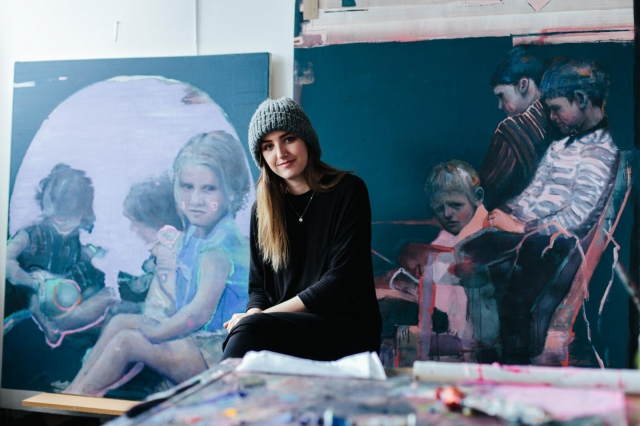 Pictured is artist Alana Barton, one of 88 artists announced today awarded funding through the Arts Council's Artists Emergency Programme. Photo by Malachy McCrudden.