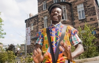 Thomas Annang set up 'Community Cohesion through Ghanaian Culture' to bring Ghanaian music, dance and culture to Hydebank Young Offenders Ce