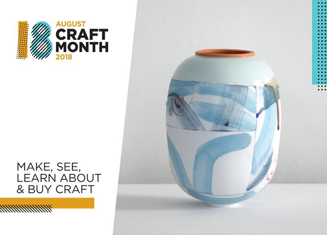 Northern Ireland is celebrating the wealth of exceptional craft talent on its doorstep during August Craft Month