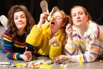 (L-R) Sarah Reid, Emer McDaid & Louise Parker star in 'Sweeties', part of 'Body Politics' by MACHA Productions