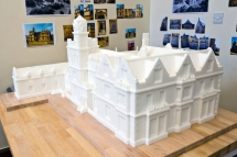 North Down Borough Council commissioned this model of Bangor Castle Town Hall in 2011