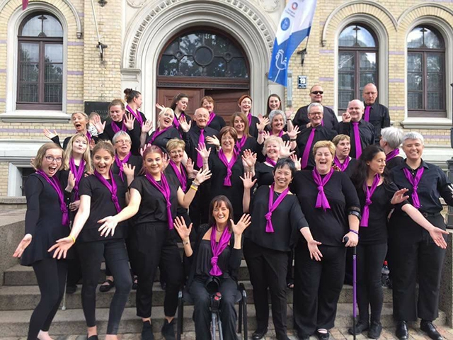 Open Arts Community Choir will celebrate its 18th anniversary concert at Stormont on 2 November as part of Belfast International Arts Festival