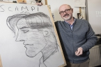 Children's Laureate PJ Lynch made his return to school and his home city to host a special illustration workshop with pupils at Lagan College inBelfast, supported by Booktrust NI.