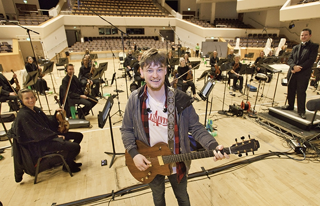 Ryan McMullan and the Ulster Orchestra