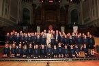 St Lawrence's Primary School, Fintona, winners of the junior category of this year's BBC Radio Ulster School Choir of the Year, live from the Ulster Hall in Belfast on Sunday