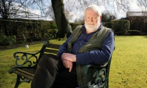 Michael Longley at home in Belfast. Photograph by Paul Mc Erlane for the Observer