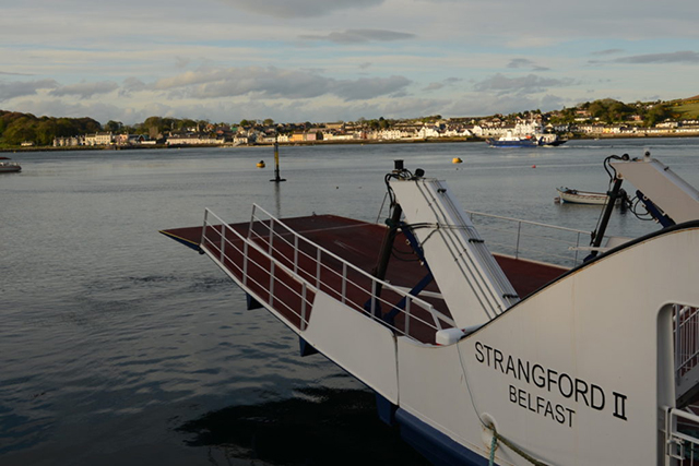 The ferry at Strangford